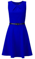 Artemis blue dress