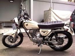 modifikasi motor honda cb 100 jap style