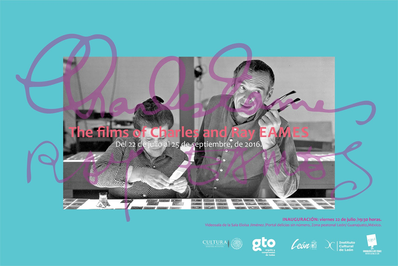 Los filmes de Charles and Ray Eames