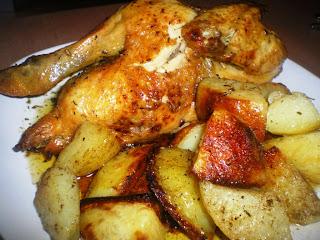 pollo-asado-patatas-comosinoexistieraelmañana
