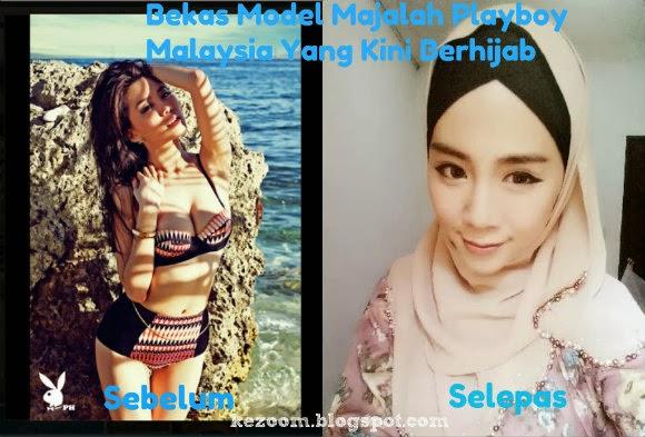 Felixia Yeap's, Bekas Model Playboy Malaysia Yang Kini Berhijab
