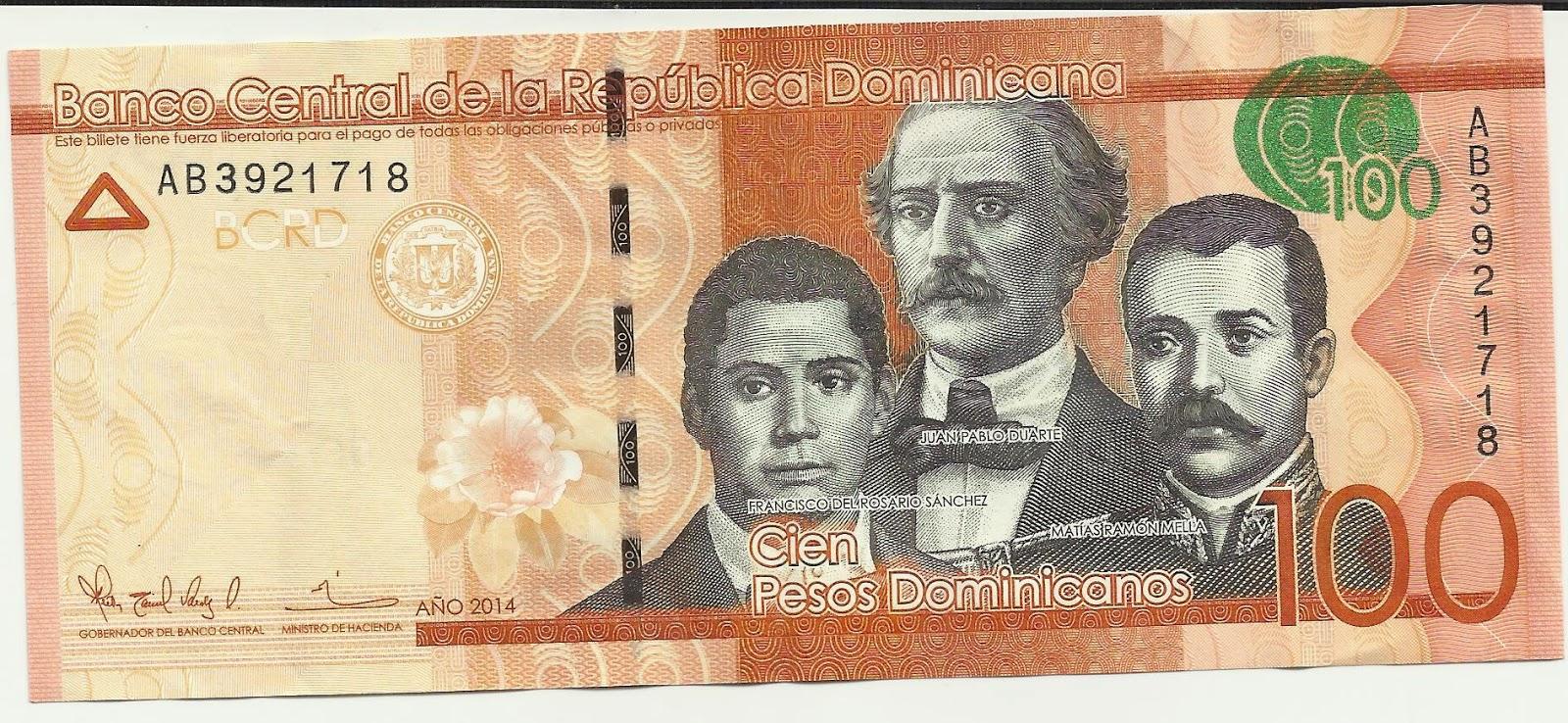 billet de 100 pesos