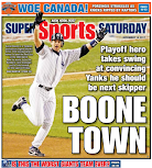The search delivers a Yankee back page