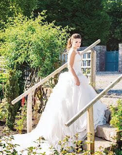 wedding magazine photoshoot at Elsick House Aberdeenshire