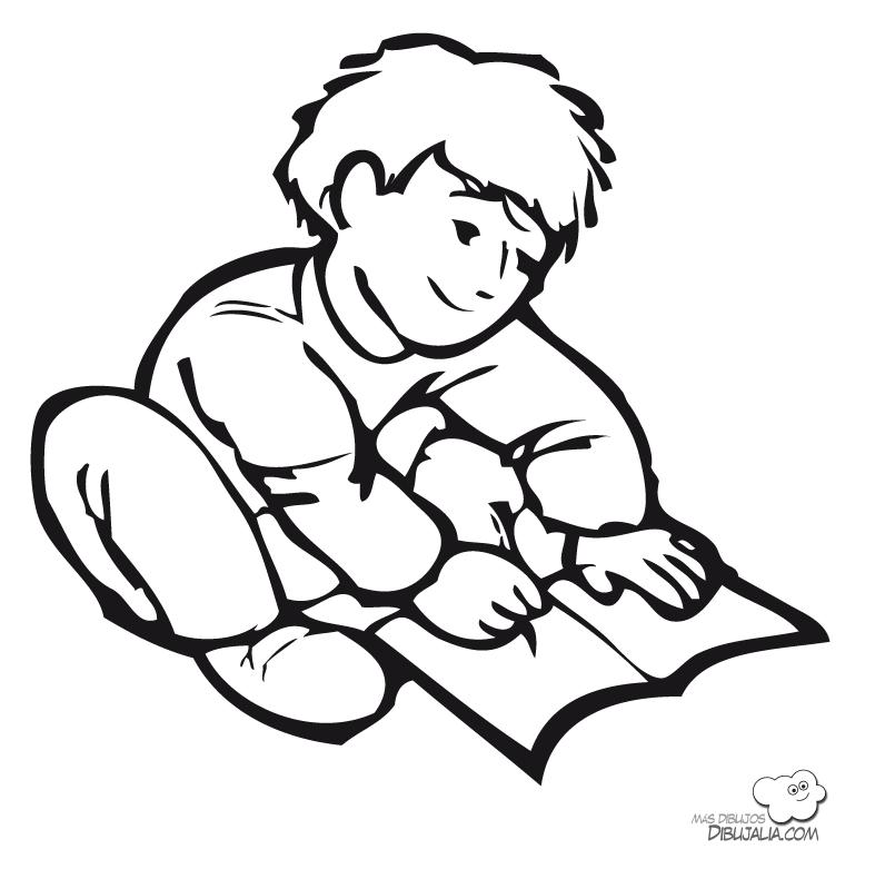 Dibujos haciendo tareas - Imagui