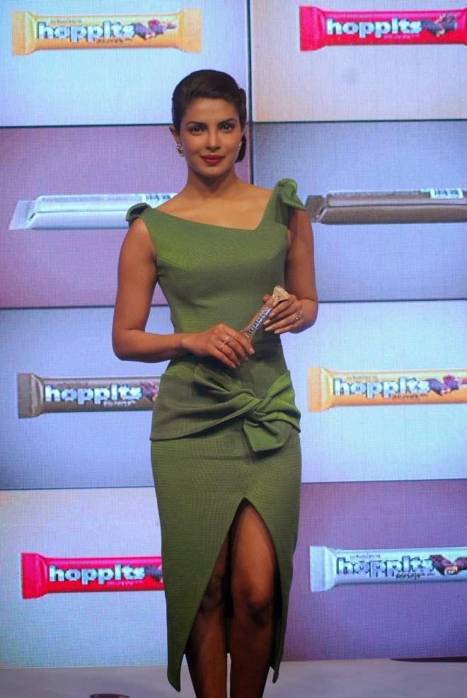 Priyanka Chopra Photos At Hoppit Chocolate Launch Event