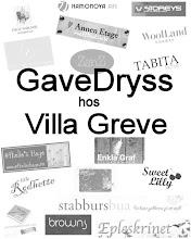Giveaway hos Villa Greve