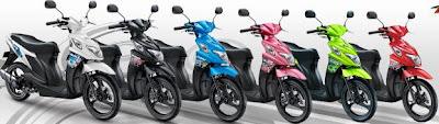 Suzuki Nex 110 colors