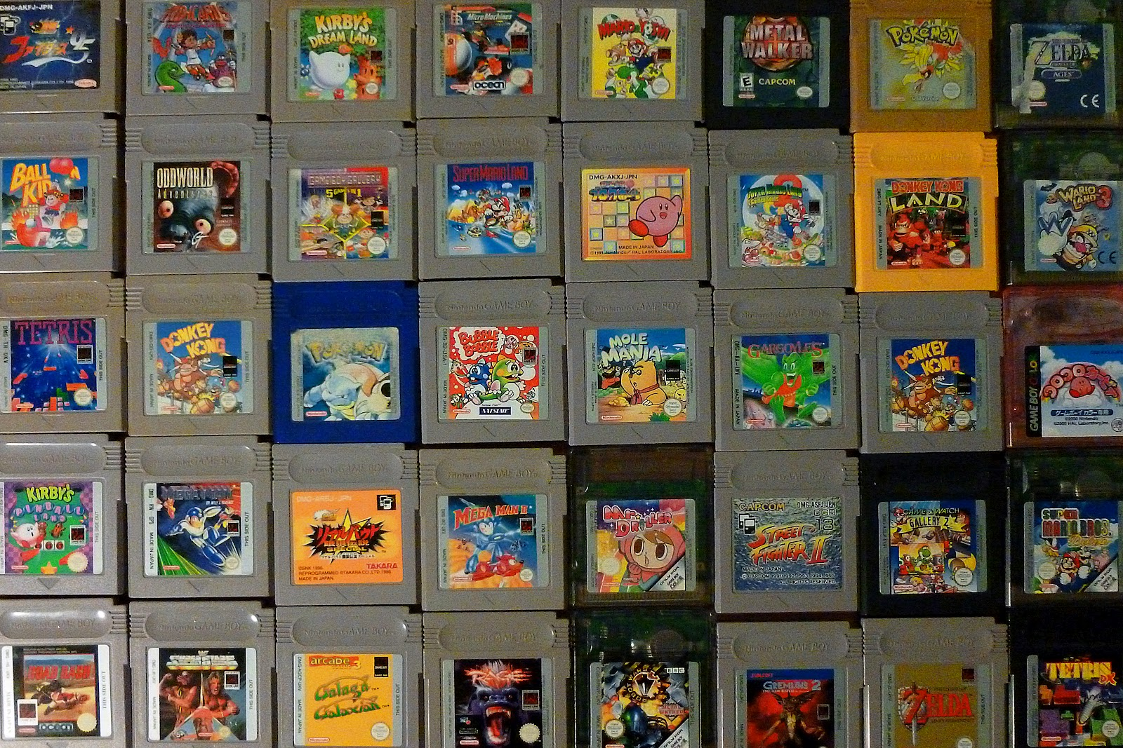 Obsession #2: Game Boy / Game Boy Color games