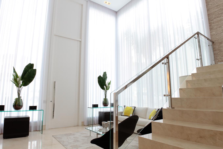 Salas De Estar Chiques E Modernas ~ Essa sala está muito semelhante a minha, também terá esses vidros e