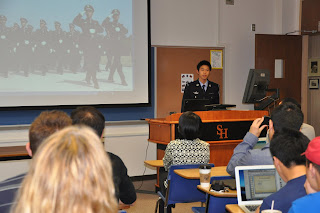 Qilong Yuan (Charles) provides an overview of policing in China.