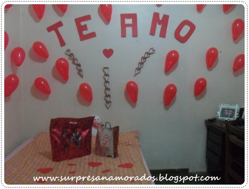 Dia dos Namorados  Surpresa no Quarto  Surpresas para Namorados