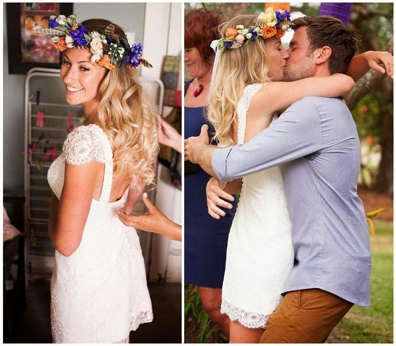 Vestidos de novia informales boda