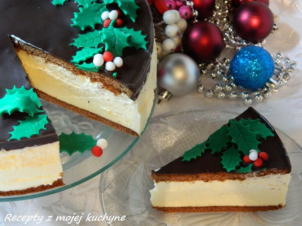 Vianočná torta s vaječným likérom