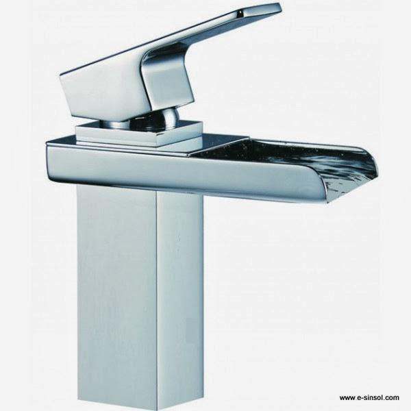 El blog del ba o moderno grifo cascada para el lavabo for Grifo de cascada