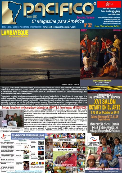 Revista Pacífico Nº 32 Turismo