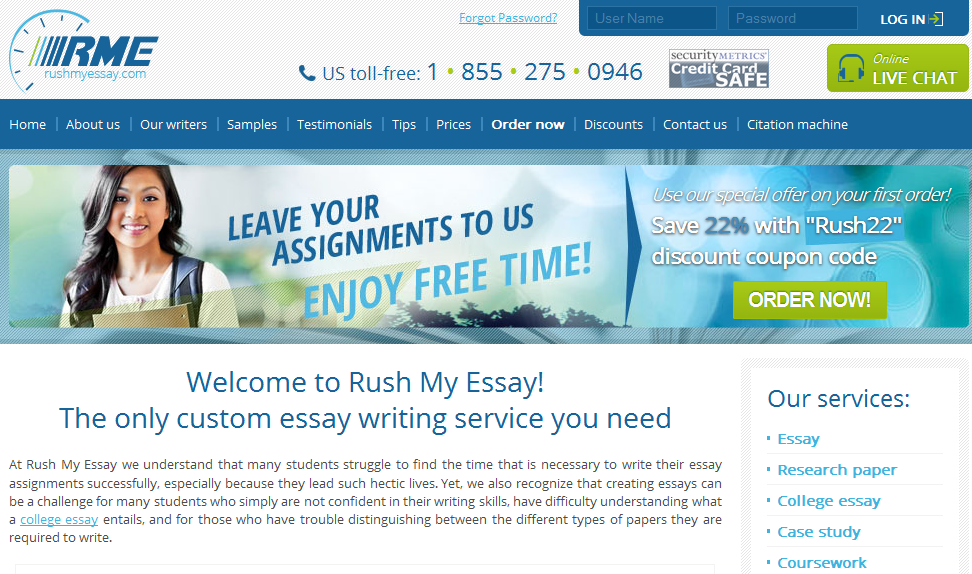 Custom Essays For Sale