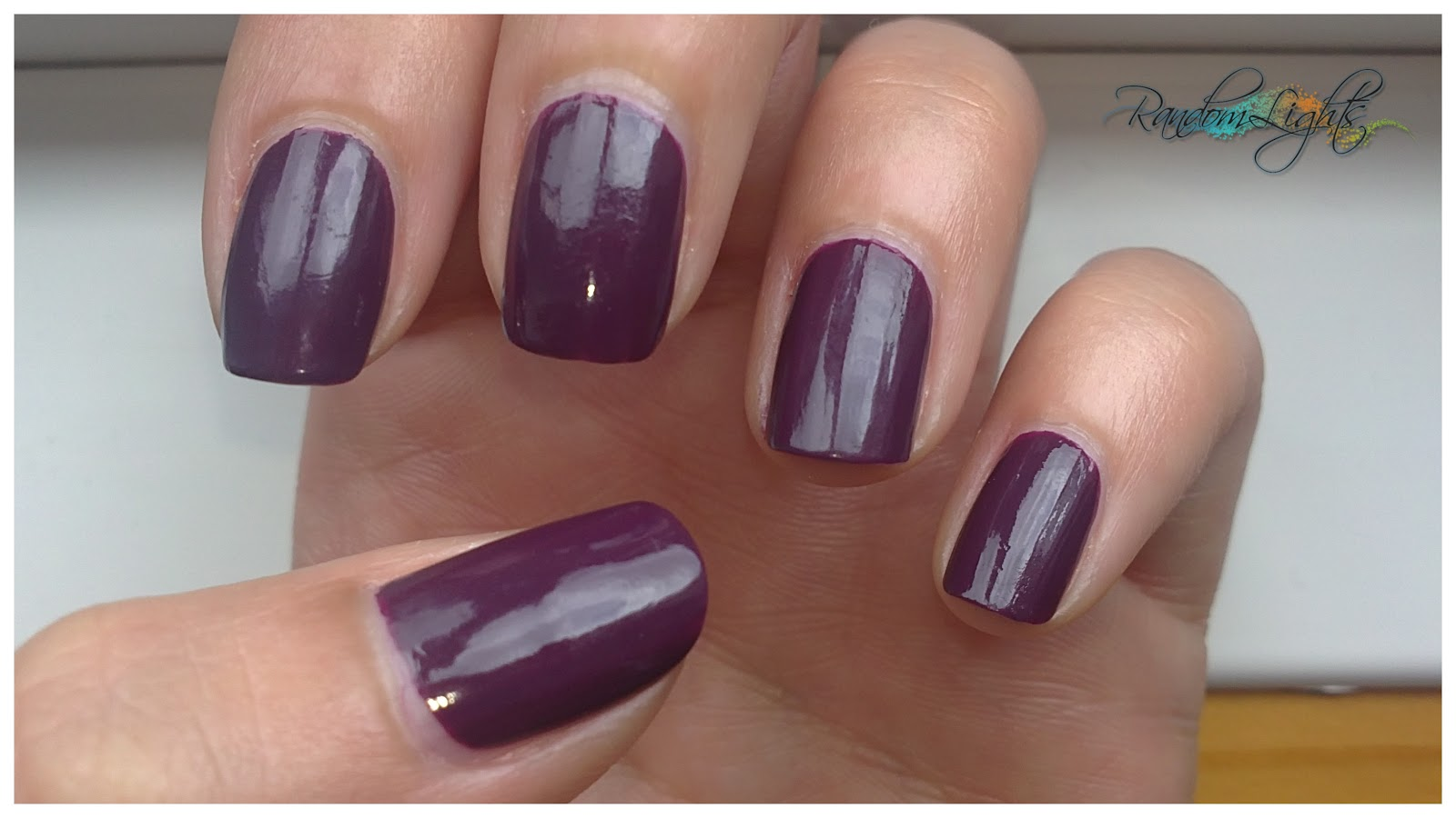 RandomLights: Review y Swatches DUO NAIL POLISH LAVENDER FROST H&M + ...
