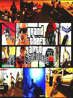 GTA San Andreas SA Game Cover