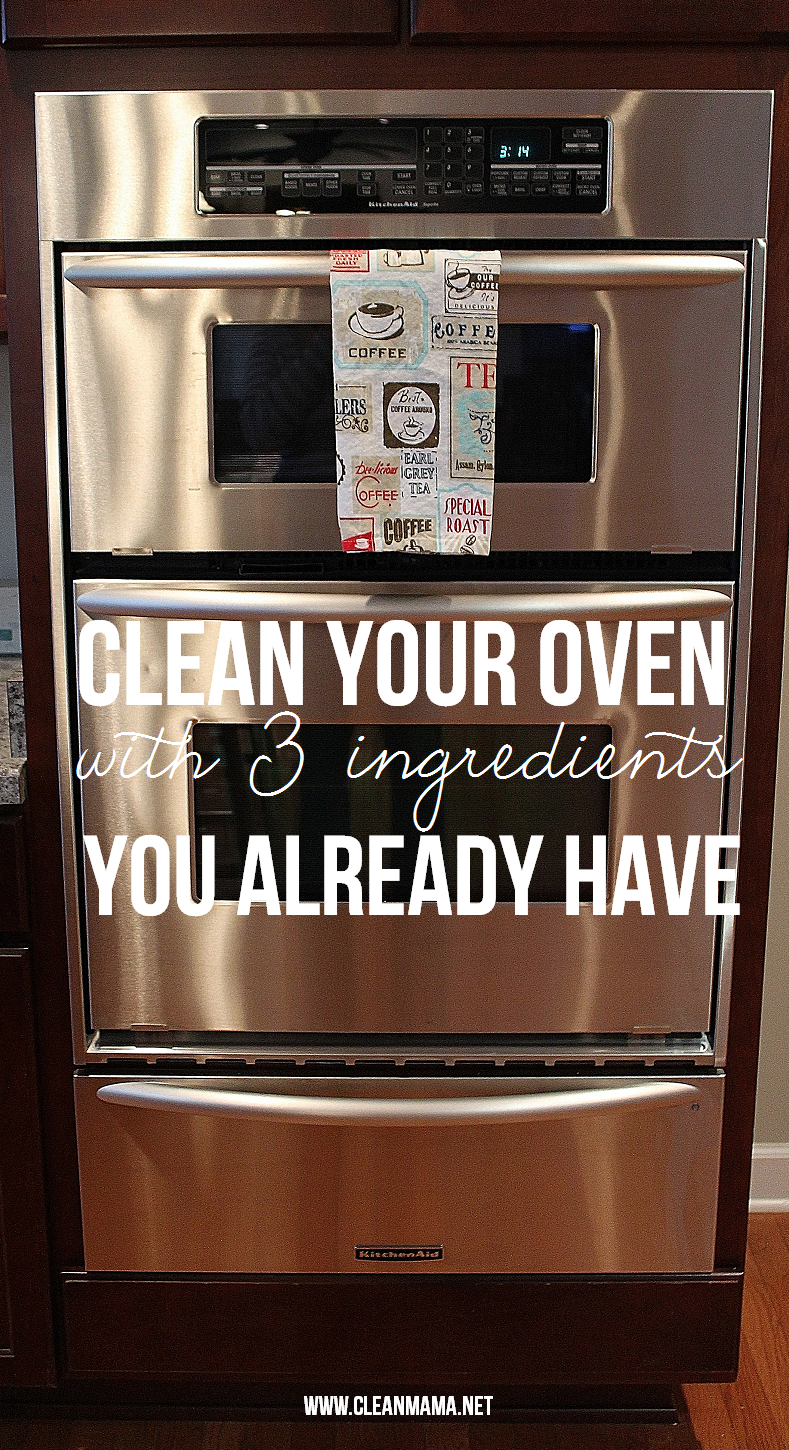 Clean Your Oven with 3 Ingredients You Already Have