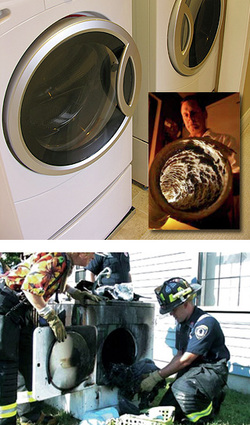 Dryer Vent Cleaning Prevents Fires