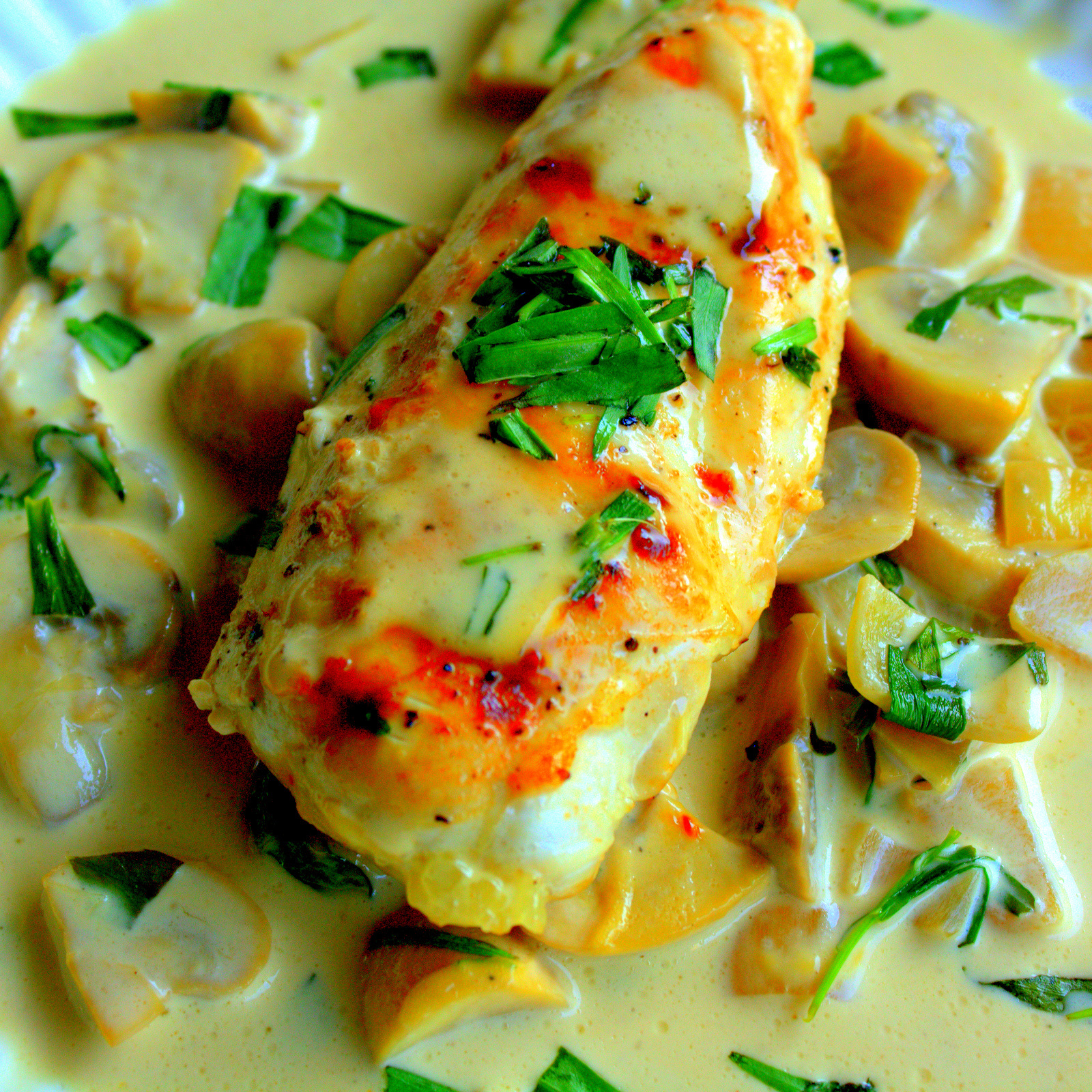 Chicken with Tarragon Cream | Manila Spoon