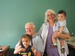 Jen ; and I with Grandkids