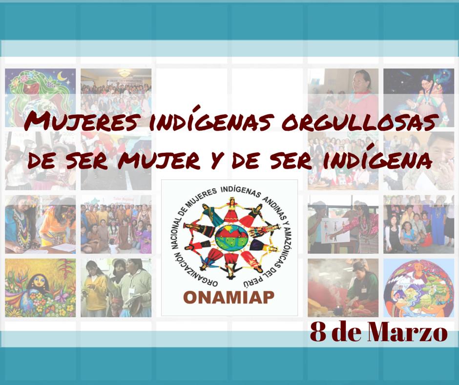 Orgullosas De Ser Mujeres Y De Ser Indigenas Onamiap