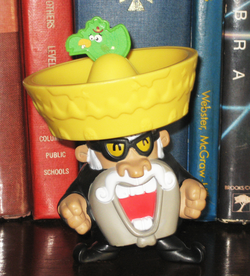 Fast Food Toys : Percy s fast food toy stories mexican guy cartoon