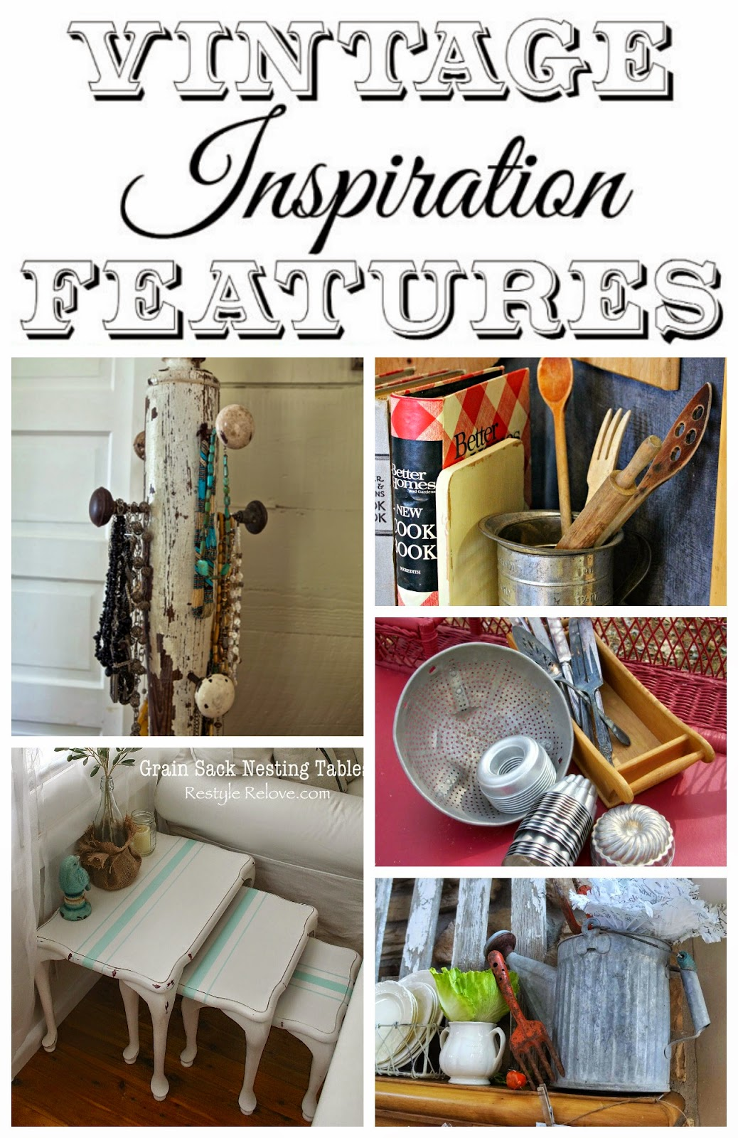 epurposed vintage projects
