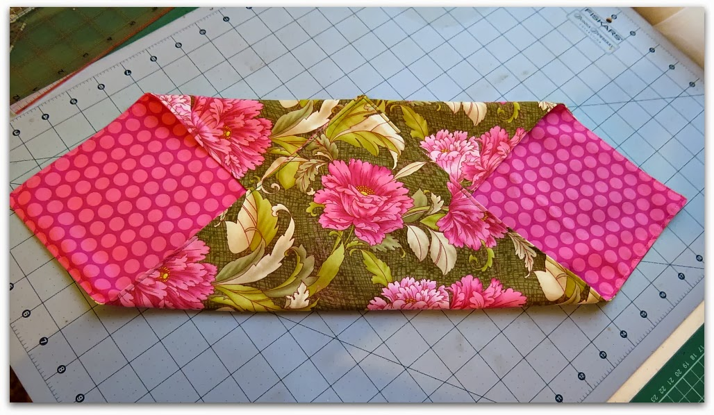 You Then Sew From The Outside Edge To Top Point Only Going Through Two Layers Same With Other Side Due Shapes Its Best Do It