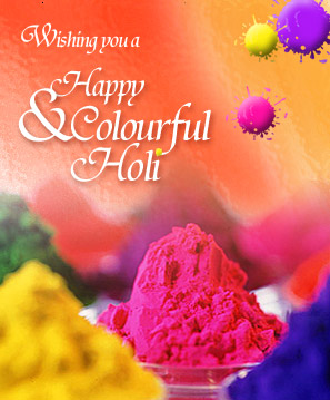 Happy holi for you