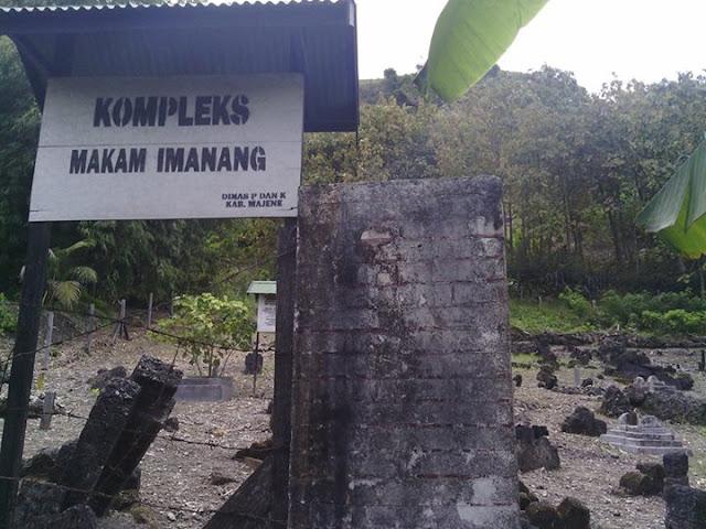 Kompleks Makam Imanang Desa Pamboqborang