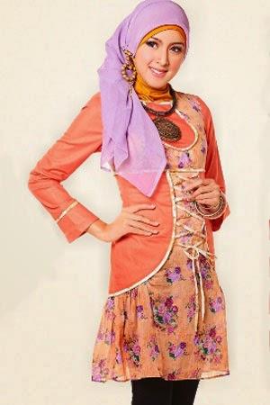 Contoh Trend Fashion Baju Muslim Remaja 2015
