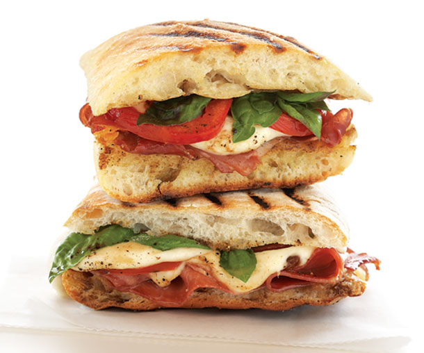 First, let's take a look at a delicious panini: