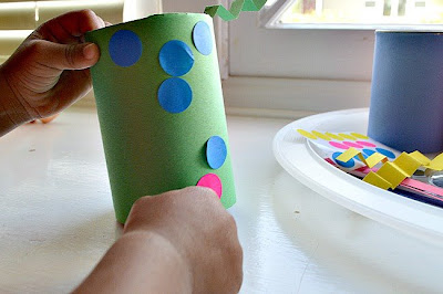 Up-cycle Kids Craft Crazy Art Cannies