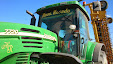 John Deere 7720 & New Holland BB 994 A