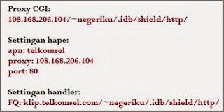 kumpulan proxy cgi indosat, xl, axis, telkomsel dan 3