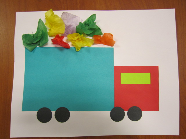 Kids 39 bibliotheque trucks storytime for Car craft for kids