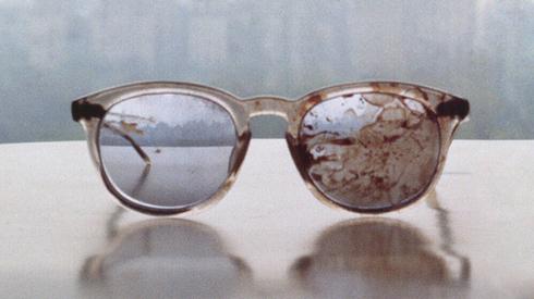 GAMBAR cermin mata milik John Lennon yang dipenuhi darah dikongsi oleh balunya, Yoko Ono sempena ulang tahun perkahwinan pasangan tersebut yang ke-44.