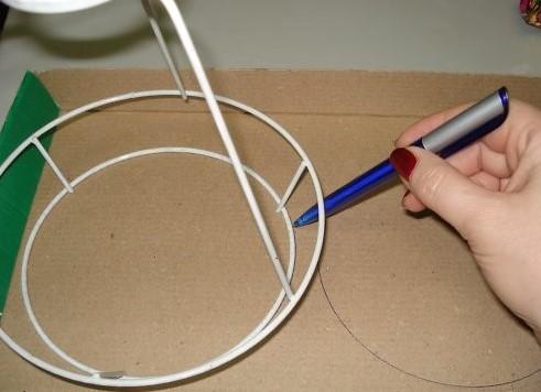 Como hacer una lampara de fomi imagui - Como hacer una lampara rustica ...