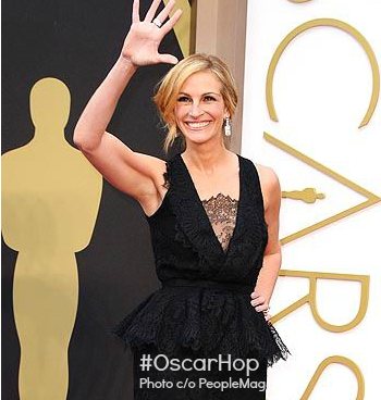 Oscars 2014 fashion red carpet mom blogger julia roberts