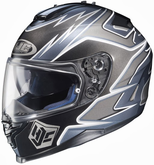 HJC IS-17 Series Intake Full Face Motorcycle Helmet