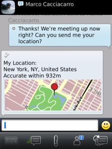 BlackBerry Messenger 6.0
