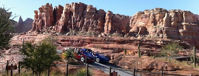 Radiator Springs Racers Cars Land