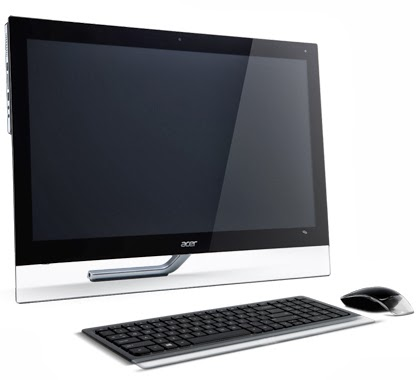внешний вид флагмана моноблока Acer Aspire 7600U