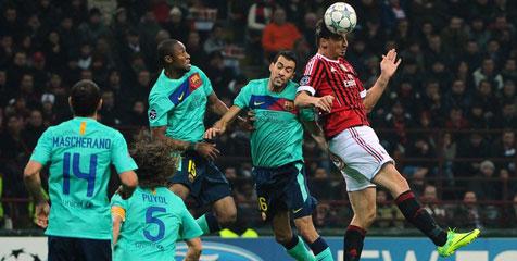 Milan vs Barceona Piala Champions 2012