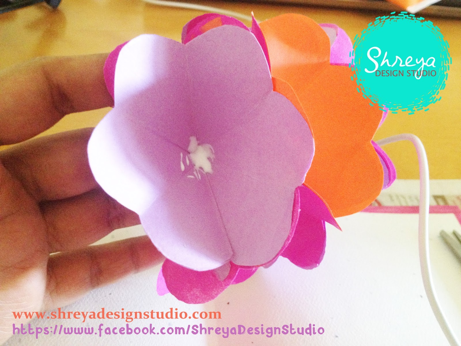 Tutorial how to make a seven flower pop up card shreya design cut approx 5 x 1 inch wide strips of paper and fringe them that is with a fine tip scissor make vertical cuts on the strip leaving some space approx 04 dhlflorist Image collections