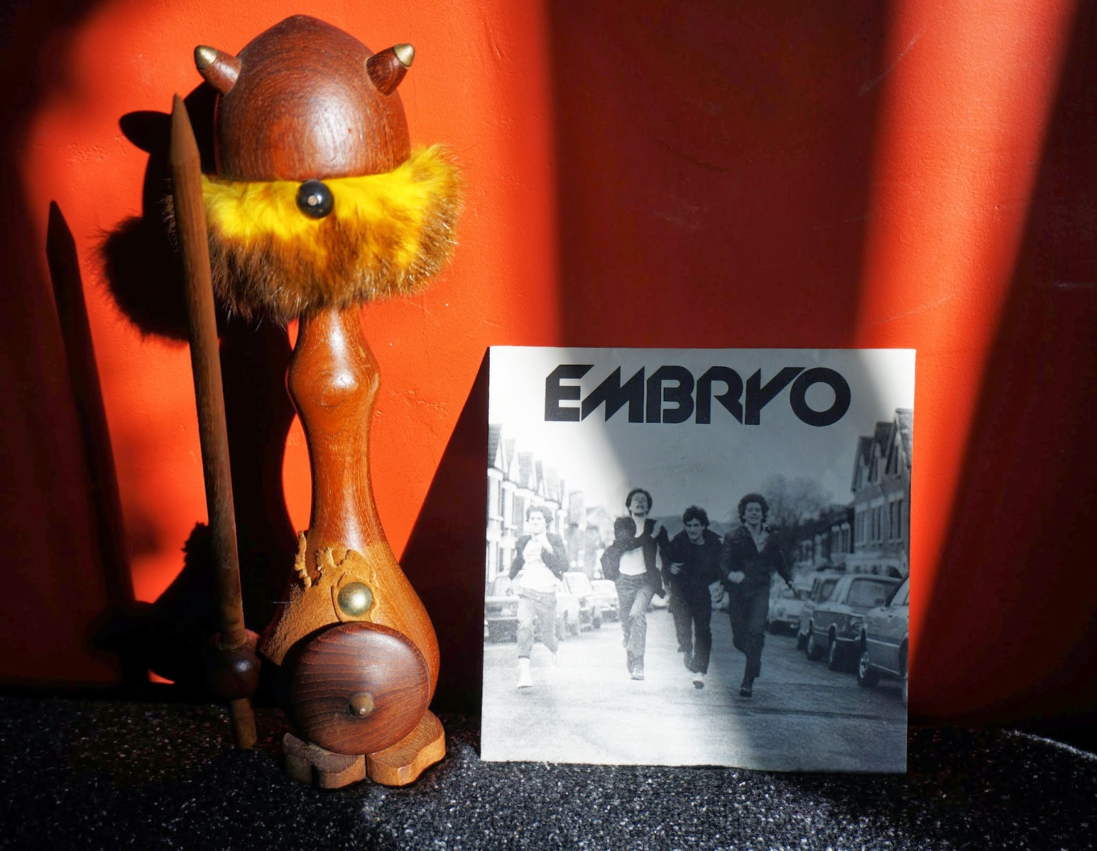 Embryo - You know he did - I'm different - 1980 Rampant records  punk rock kbd