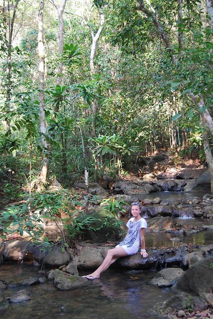 Национальный парк рядом с пляжем Туп Каек. National Park near Tup Kaek beach.